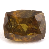 Желтовато-коричневый сфен антик вес 1.57 карат, размер 7.4х5.6мм (sphene0070)