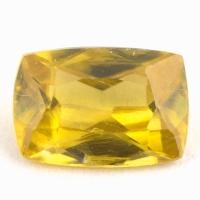 Золотистый сфен антик вес 0.88 карат, размер 7х4.8мм (sphene0071)
