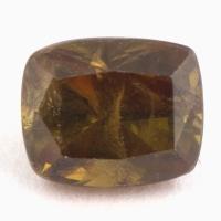 Желтовато-коричневый сфен антик вес 1.43 карат, размер 6.5х5.4мм (sphene0072)