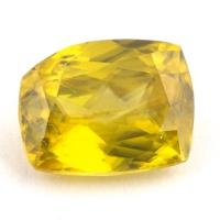 Золотистый сфен антик вес 1.59 карат, размер 8х6.3мм (sphene0080)