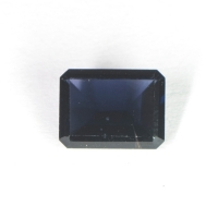 Темно-синяя шпинель октагон вес 1.59 карат, размер 8.3х6.3мм (spinel0017)