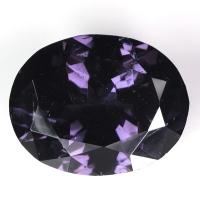Серо-фиолетовая шпинель овал вес 3.76 карат, размер 11.7х9.3мм (spinel0055)