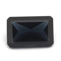 Тёмно-синяя шпинель октагон вес 1.55 карат, размер 8.5х5.5мм (spinel0059)