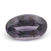 Светло-фиолетовая шпинель овал вес 1.03 карат, размер 7.9х4.8мм (spinel0072)