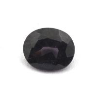 Фиолетовая шпинель овал вес 0.42 карат, размер 5.2х4.3мм (spinel0076)