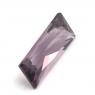 Розовато-сиреневая шпинель багет вес 0.62 карат, размер 7.5х3.2мм (spinel0081)