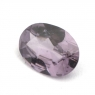 Бледно-фиолетовая шпинель овал вес 0.56 карат, размер 6.5х4.8мм (spinel0087)