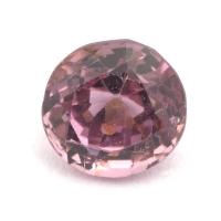 Розовая шпинель овал вес 1.24 карат, размер 6.2х5.8мм (spinel0095)