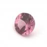 Розовая шпинель круг вес 0.38 карат, размер 4.5х4.4мм (spinel0097)