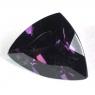 Тёмно-сливовая шпинель триллион вес 2.72 карат, размер 10.8х8.4мм (spinel0098)
