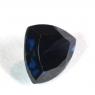 Тёмно-синяя шпинель триллион вес 1.82 карат, размер 8.5х7.4мм (spinel0099)