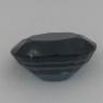 Тёмно-синяя шпинель овал вес 2.34 карат, размер 9.2х7мм (spinel0103)
