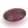Вишнёво-красная шпинель овал вес 1.36 карат, размер 7.6х6.3мм (spinel0106)