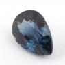 Кобальтово-синяя шпинель груша, вес 1.26 карат, размер 7.8х5.6мм (spinel0121)