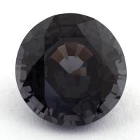 Темно-серая шпинель круг, вес 5.39 карат, размер 11.2х11мм (spinel0125)