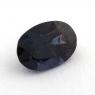 Темно-синяя шпинель овал, вес 1.36 карат, размер 8.2х5.7мм (spinel0133)