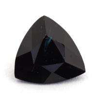Темно-синяя шпинель триллион, вес 0.9 карат, размер 7.3х7мм (spinel0143)