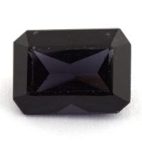 Темно-фиолетовая шпинель октагон, вес 2.61 карат, размер 9.5х6.8мм (spinel0146)