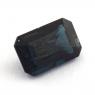 Темно-синяя шпинель октагон, вес 1.5 карат, размер 8.1х5.2мм (spinel0147)