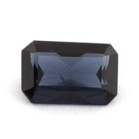 Темно-синяя шпинель октагон, вес 1.08 карат, размер 8х5.2мм (spinel0149)