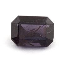 Темно-фиолетовая шпинель октагон, вес 1.62 карат, размер 8х5.9мм (spinel0150)