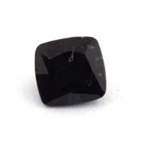 Темно-синяя шпинель антик, вес 0.75 карат, размер 5.6х5.4мм (spinel0156)