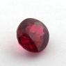 Ярко-красная шпинель овал, вес 0.6 карат, размер 5.3х4.9мм (spinel0175)
