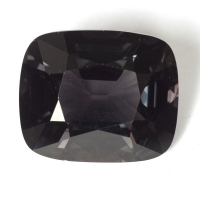 Темно-серая шпинель антик, вес 5.42 карат, размер 11.5х9.6мм (spinel0182)