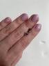 Пара серых шпинелей формы овал, общий вес 1.73 карат, размер 7х5мм (spinel0208)