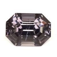 Темно-лиловая шпинель октагон, вес 2.39 карат, размер 8.8х6.4мм (spinel0215)