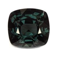 Темная зеленовато-серая шпинель антик, вес 3.11 карат, размер 8.5х8мм (spinel0216)