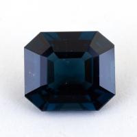 Темно-синяя шпинель октагон, вес 3.09 карат, размер 9.18х8.07мм (spinel0221)