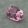 Розовая памирская шпинель отличной российской огранки формы овал, вес 0.99 карат, размер 7.1х5.1мм (spinel0241)