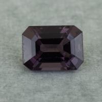 Темно-сиреневая шпинель октагон, вес 1.72 карат, размер 7.8х5.8мм (spinel0253)