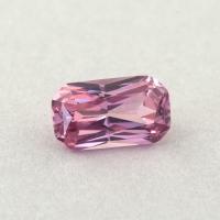 Светло-розовая шпинель отличной российской огранки формы октагон, вес 0.34 карат, размер 5х2.9мм (spinel0261)
