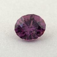 Сиренево-пурпурная шпинель отличной российской огранки формы овал, вес 0.73 карат, размер 6.1х5мм (spinel0268)