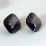 Пара тёмно-пурпурных шпинелей формы антик, общий вес 7.52 карат, размер 9.6х8.8мм (spinel0272)