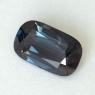 Темно-серая (грозовая) шпинель формы антик, вес 3.68 карат, размер 12.4х7.3мм (spinel0275)
