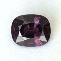 Темно-пурпурная шпинель формы антик, вес 1.63 карат, размер 8х6.6мм (spinel0277)