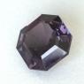 Темно-пурпурная шпинель формы октагон, вес 2.51 карат, размер 8х8мм (spinel0278)