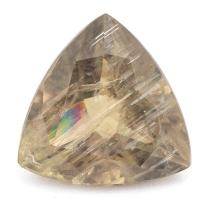 Султанит (диаспор) триллион вес 13.41 карат, размер 15.4х15.2мм (sultanite0043)