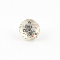 Султанит (диаспор) круг вес 0.77 карат, размер 4.9х4.9мм (sultanite0061)