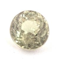 Султанит (диаспор) круг вес 1.42 карат, размер 6.7х6.5мм (sultanite0063)