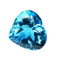 Топаз голубой swiss сердце вес 52 карат, размер 22.3х22мм (swiss0010)