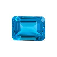 Топаз голубой swiss октагон вес 63.91 карат, размер 22.8х17мм (swiss0025)