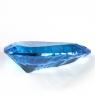 Ярко-голубой топаз груша, вес 19.94 карат, размер 26.4х14.4мм (swiss0039)