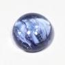 Танзанит кабошон круг вес 2.38 карат, размер 8.3х8.2мм (tanz0060)