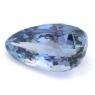 Фиолетово-синий танзанит груша вес 3.58 карат, размер 11.32х7.38мм (tanz0087)