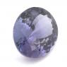 Фиолетово-синий танзанит овал вес 4.14 карат, размер 11.6х9.35мм (tanz0090)