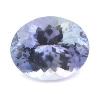 Зеленовато-синий танзанит овал вес 3.23 карат, размер 10.6х8.6мм (tanz0093)